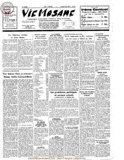 26e année - n°23 - 5 juin 1971