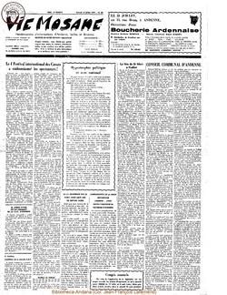 26e année - n°29 - 17 juillet 1971
