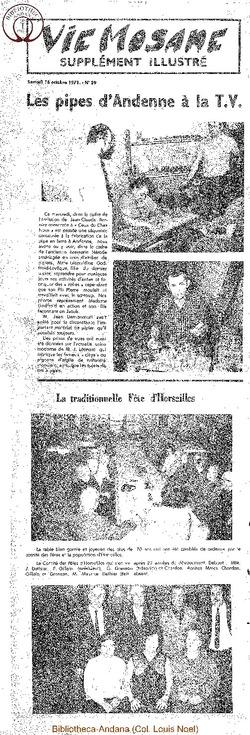 26e année - n°39 - 16 octobre 1971 suppl illust (incomplet)