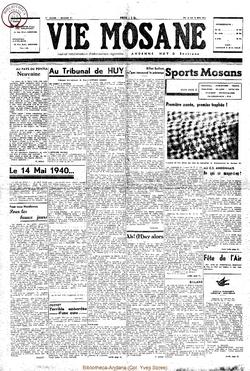 2e année - n°31 - 16 mai 1947