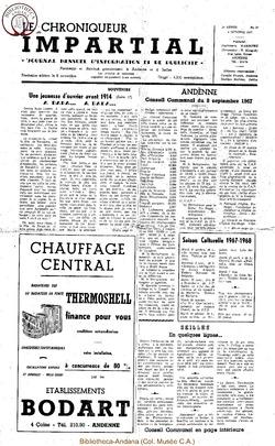 2e année - n20 - 4 octobre 1967