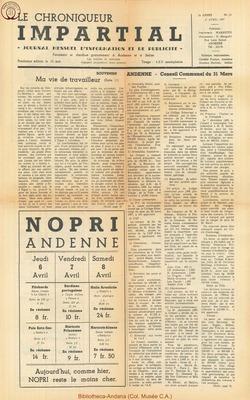 2e annee - n14 - 5 avril  1967