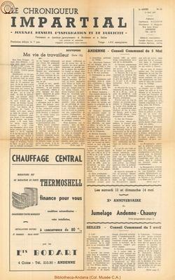 2e annee - n15 - 10 mai  1967