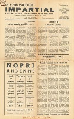2e annee - n21 - 8 novembre 1967