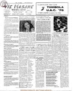 31e année - n°42 - 13 novembre 1976