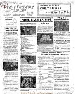 31e année - n°49 - 31 decembre 1976