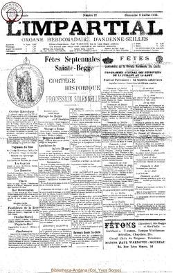38e annee - n27 - 8 juillet 1923