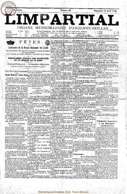 38e annee - n32 - 12 aout 1923