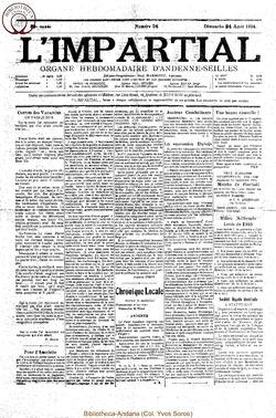 39e annee - n34 - 24 aout 1924