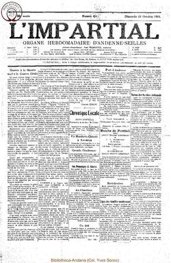 39e annee - n41 - 12 octobre 1924