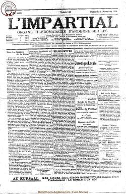 39e annee - n45 - 2 novembre 1924