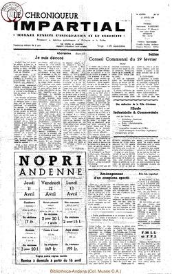 3e année - n26 - 10 avril 1968