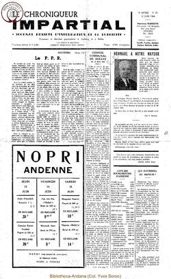 3e année - n28 - 12 juin 1968