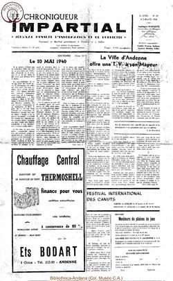 3e année - n29 - 3 juillet 1968
