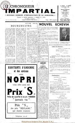 3e année - n32 - 9 octobre 1968