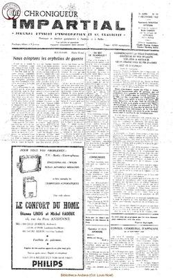 3e année - n34 - 4 decembre 1968