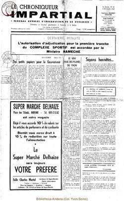 3e année - n36 - 5 février 1969