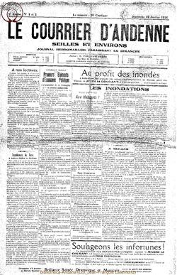 3e annee - n°1 & 2 - 10 janvier 1926