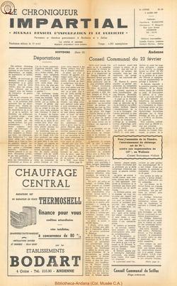 3e annee - n25 - 6 mars 1968
