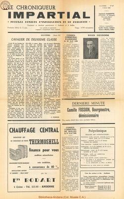3e annee - n27 - 8 mai 1968