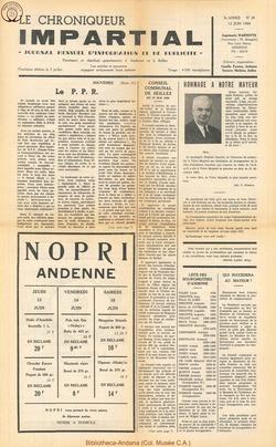 3e annee - n28 - 12 juin 1968