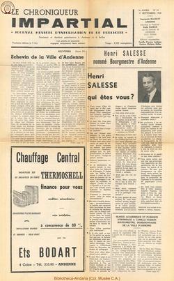3e annee - n31 - 11 septembre 1968