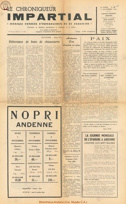 3e annee - n33 - 6 novembre 1968
