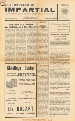 3e annee - n35 - 8 janvier 1969