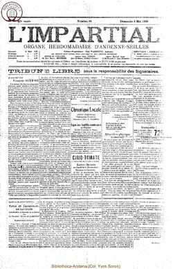 40e annee - n18 - 3 mai 1925