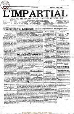 40e annee - n20 - 17 mai 1925
