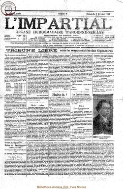 40e annee - n6 - 8 fevrier 1925