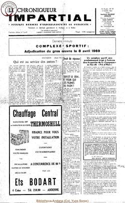 4e année - n37 - 5 mars 1969