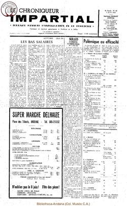 4e année - n40 - 4 juin 1969