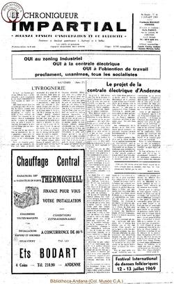 4e année - n41 - 2 juillet 1969