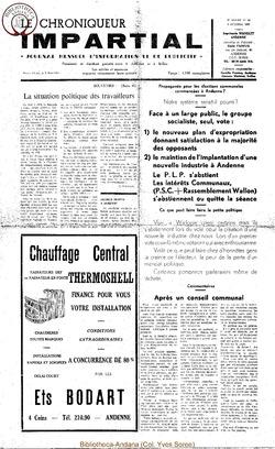4e année - n44 - 8 octobre 1969