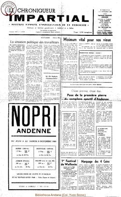4e année - n45 - 5 novembre 1969