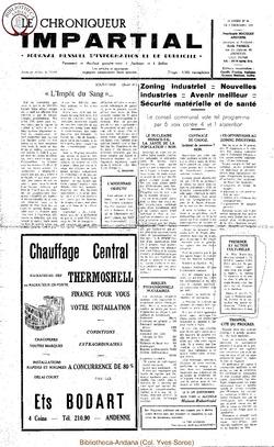 4e année - n46 - 5 décembre 1969