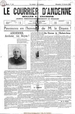 4e annee - n40 - 2 octobre 1927