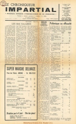 4e annee - n40 - 4 juin 1969