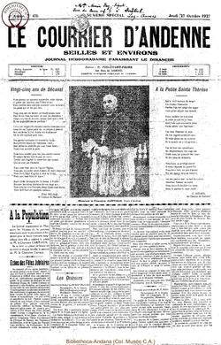 4e annee - n43b - 27 octobre 1927