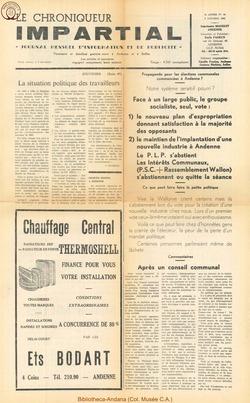 4e annee - n44 - 8 octobre 1969