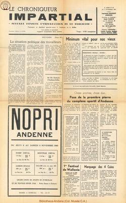 4e annee - n45 - 5 novembre 1969