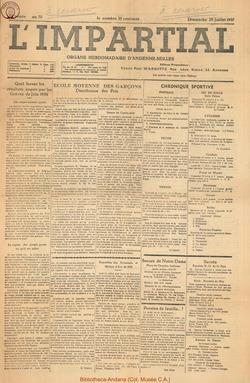 53e annee - n30 - 25 juillet 1937