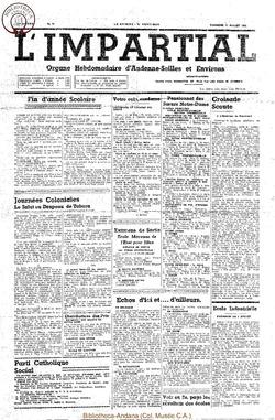 54e annee - n29 - 17 juillet 1938