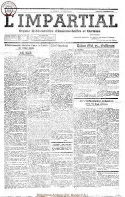 54e annee - n50 - 20 novembre 1938