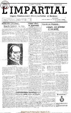 55e annee - n12 - 16 avril 1939