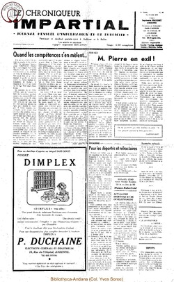 5e année - n50 - 8 avril 1970