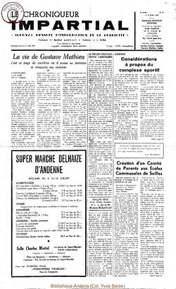 5e année - n53 - 8 juillet 1970