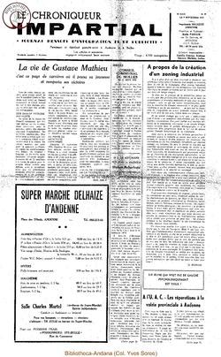 5e année - n55 - 9 septembre 1970