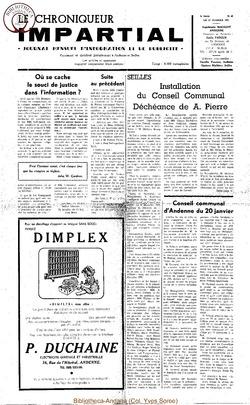 5e année - n60 - 17 février 1971
